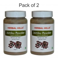 Herbal Hills Jambu Beej powder - 100 gms - Pack of 2